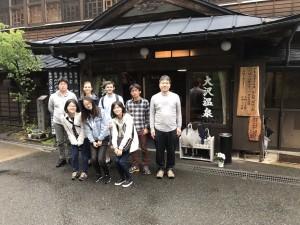 大沢温泉 Osawa onsen 2018/7/7,8