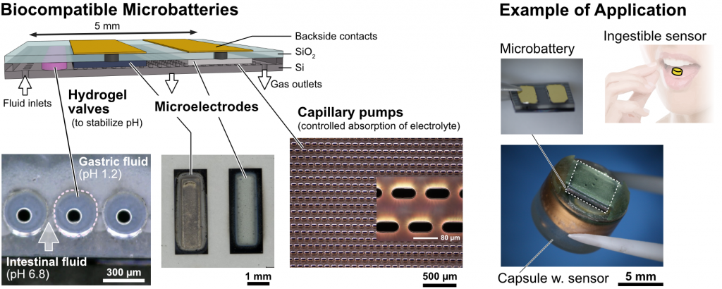 BiocompatibleMicrobattery