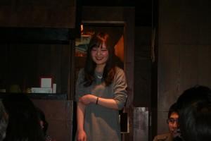 福村研から来たM1の伊藤さん! テーマも似ているしよろしくね!