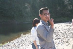 インドネシアからの留学生Grasianto君です。 これからよろしくね
