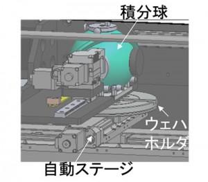参考画像:新たに開発された半導体ウェハ検査装置の外観。